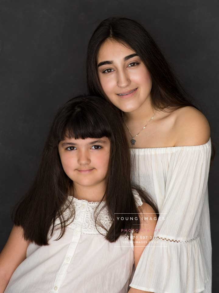 Casual_Black_Hair_Sisters_Portrait_by_Young_Images_Photography